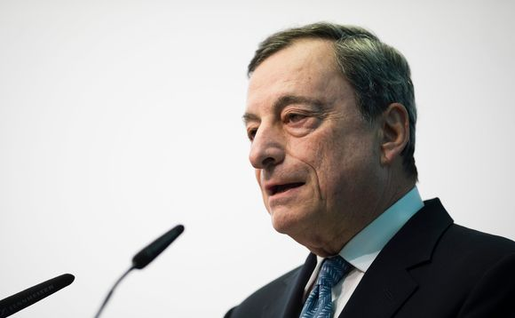 ECB president Mario Draghi. Photo: European Central Bank