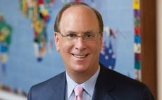 BlackRock's Fink signals post-crisis acquisition interest