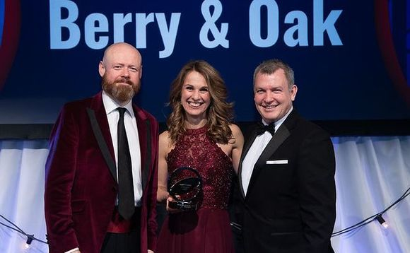 Berry & Oak won the Adviser Firm of the Year - UK award in 2020.