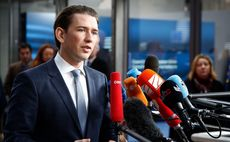 'Right-wing shift' in Europe as Kurz elected Austrian Chancellor