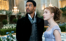Image source: Netflix. From left to right: The Duke of Hastings and Daphne Bridgerton.