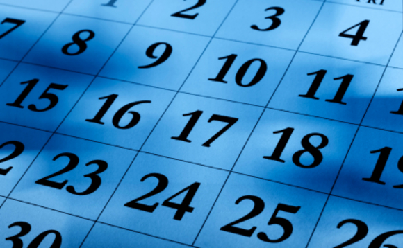 Key dates in pensions for your diary