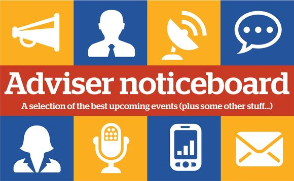 Adviser noticeboard: Post-it note size stuff for IFAs