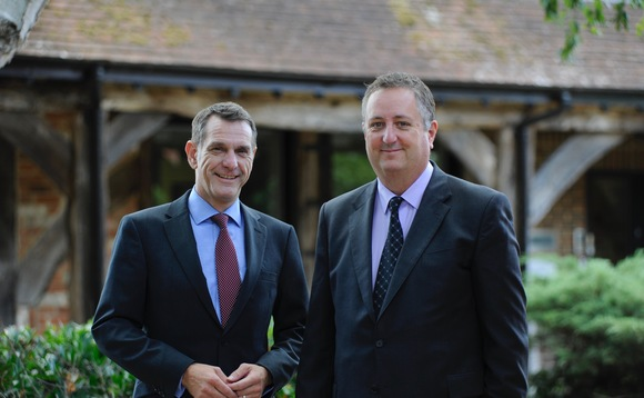Pictured left to right: Fairstone sales director Steve Easter and Allensons Mortgage Advisors company principal Paul Cleveland