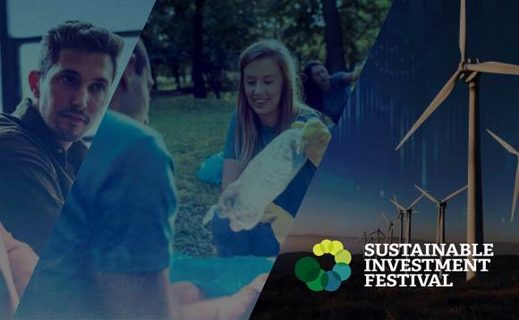 The inaugural festival will explore the future of sustainable investing and identify opportunities across asset classes