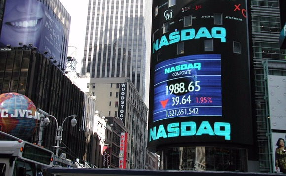 Several Nasdaq-listed stocks such as Apple, Google, Amazon and Mirosoft all showed an identical share price of $123.47.